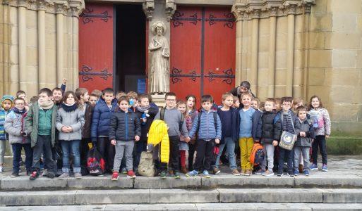 Sortie pédagogique et culturelle au musée Basque pour les CP-CE1.